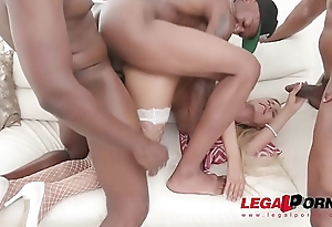 Florane Russell first ever double penetration
