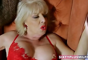 Scenes with lusty matures being fucked