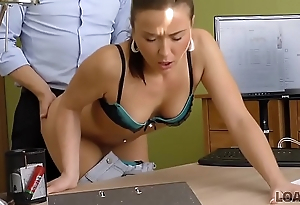 LOAN4K. New bike economize a lot of money so brunette gets pussy drilled