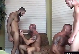 Gay Natural personally Orgy Anal Fingering