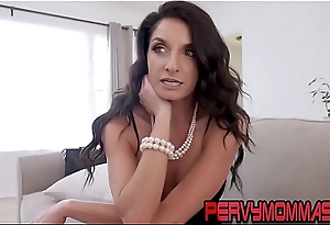 Busty milf gives pov head and gets hardcore fucked in hd