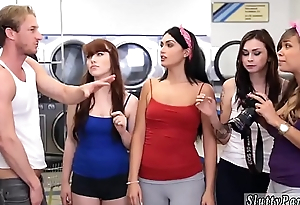 Teen nerd blowjob Laundry Go steady with