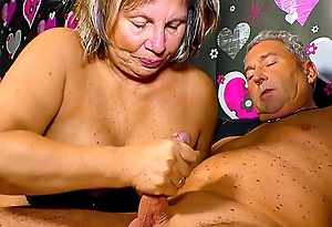 XXX OMAS - Horny German granny needs a hard cock up will not hear of mature pussy