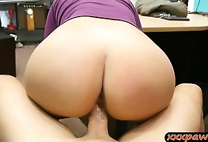 Big confidential woman gets drilled by pawn man at burnish apply pawnshop