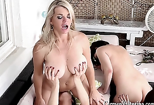 6 Girl Neighborhood Lesbian Orgy! Jelena Jensen, Vicky Vette, Maggie Green, Carmen Valentina, Rachel Storms and Its Cleo!