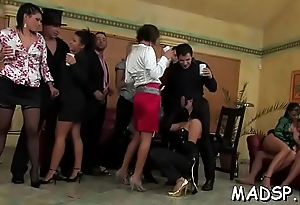 Indecent birthday party turns into a wild and hot fuckfest