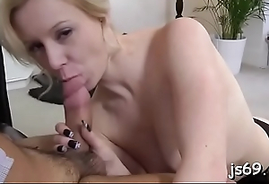 Mature guy gets completely lucky in reality sex scenery
