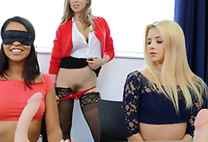 Sexy teacher Lena Paul Riley Star Vienna Black - Dildo Focus Group Starts