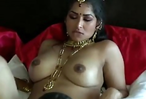 Extremely graveolent on dark skinned Desi dude eats wet pussy of his GF