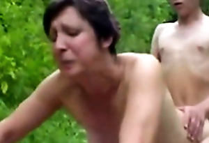 Forest XXX Sex Fuckers 1 - Old Woman & Young Boy - Sex Chapter