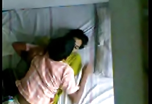 Indian Kerala aunty and husbands younger kin hidden camera