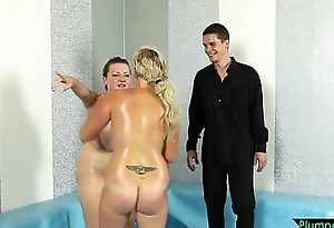 Well done BBW wrestler getting pussyfucked