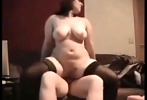 Curvy fit together fucked on real homemade